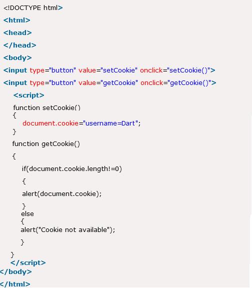 Javascript Cookie